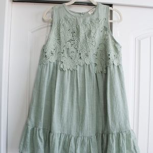 Umgee | Boho Sage Green Dress